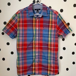 MAKE OFFER EUC TOMMY HILFIGER COLORFUL BUTTON M